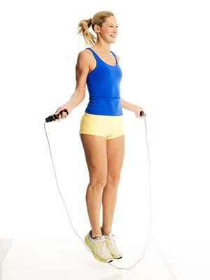 Skipping can help you get fit again after you...